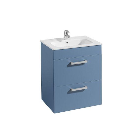 Meuble Unik JOLI 600 2 tiroirs et lavabo