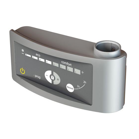 Kit mixte électrique 500W pour sèche-serviettes - Boîtier digital gris
