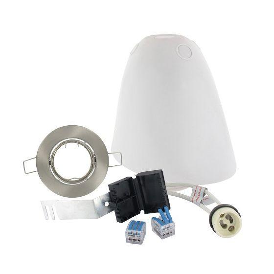Kit SPOTBOX NO AIR BBC spot LED encastré aluminium