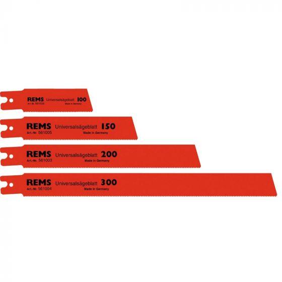 Lames de scie universelle REMS 150mm x5