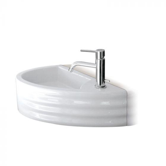 Lave-mains céramique blanc GIGA - Ondyna WGI4509