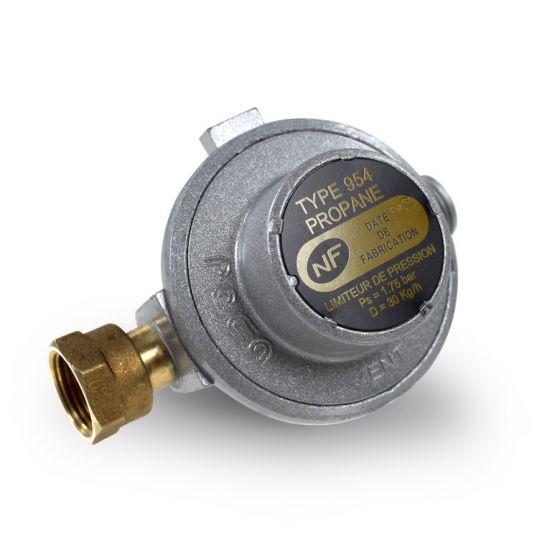 Limiteur de pression propane NF - 30kg/h - 1.75bar - Ecrou 20x150-M20x150