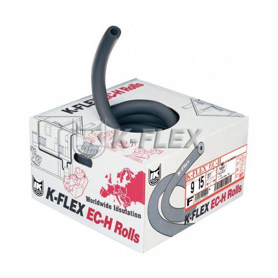 Manchon d'isolation couronne 25m NF-FEU K-Flex épaisseur 13mm x Ø18 Non fendu