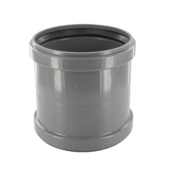 Manchon PVC assainissement à butée FF