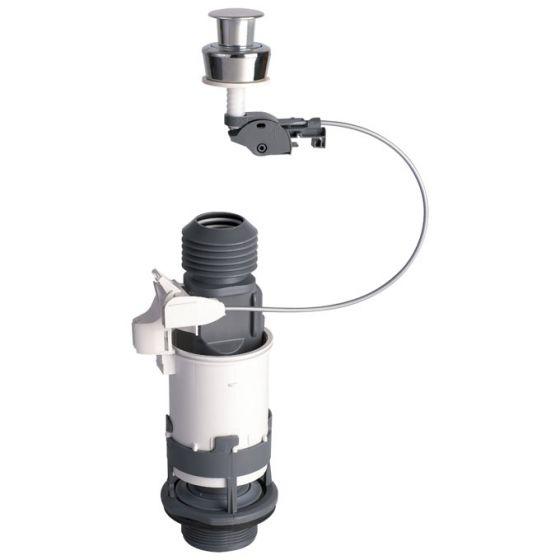 Mécanisme de chasse MD2 PMR à câble et poussoir simple débit WIRQUIN