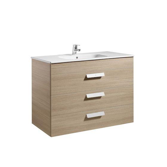 meubleUnik DEBBA 1000 3 portes, lavabo