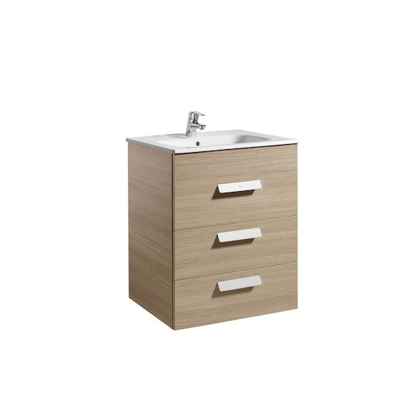 meubleUnik DEBBA 600 3 portes, lavabo