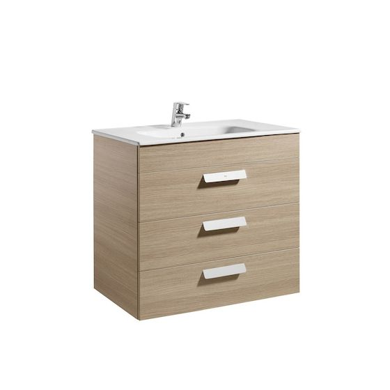 meubleUnik DEBBA 800 3 portes, lavabo