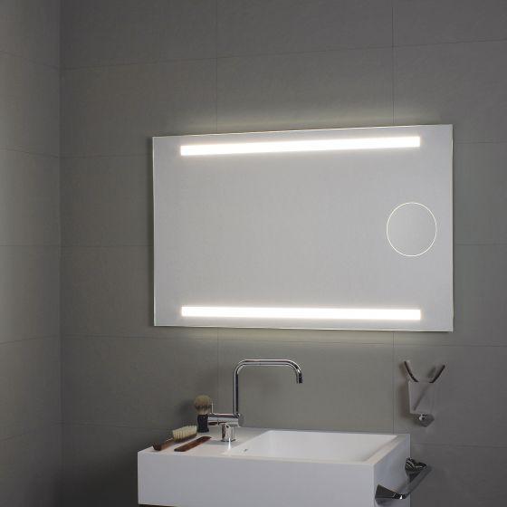 Miroir clairage sup rieur et inf rieur led miroir for Eclairage miroir led