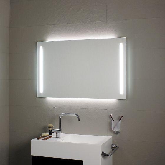 miroir avec clairage led en fa ade et r tro clairage koh i noor l459 miroir salle de. Black Bedroom Furniture Sets. Home Design Ideas