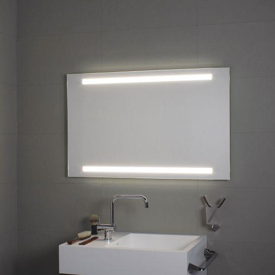 miroir avec clairage led sup rieur et inf rieur koh i noor l4593 miroir salle de bain. Black Bedroom Furniture Sets. Home Design Ideas
