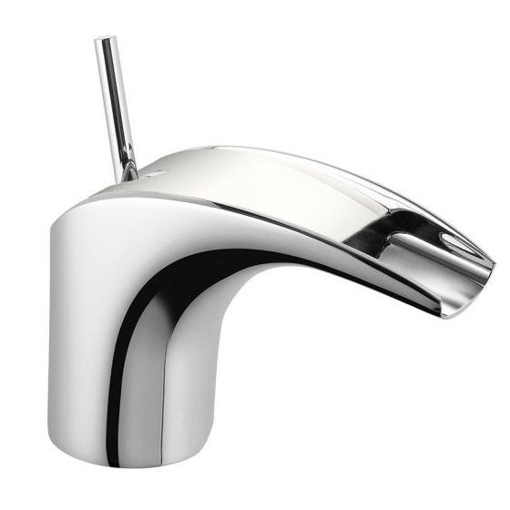 Mitigeur lavabo Chromé/Blanc MAJI - MAJ15B