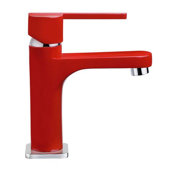 Mitigeur lavabo Rouge WOSSA Cartouche céramique C1 - WOS15R
