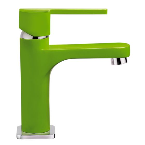 Mitigeur lavabo Vert WOSSA Cartouche céramique C1 - WOS15G