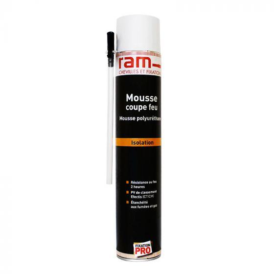 Mousse Polyuréthane COUPE-FEU 2H 750ml