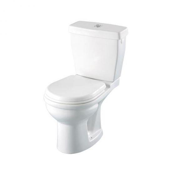 Pack WC gain de place - sortie horizontale 3/6L BLANC