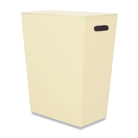 Panier à linge crème Ecopelle 60cm