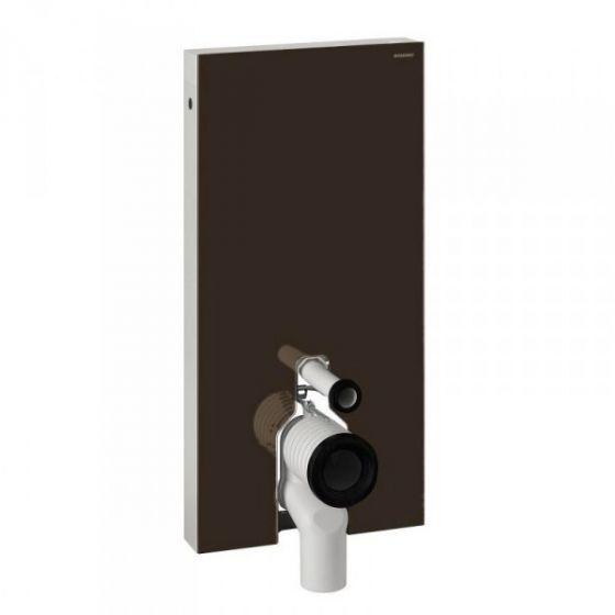 Panneau sanitaire Geberit Monolith pour WC au sol, 101 cm - Chocolat