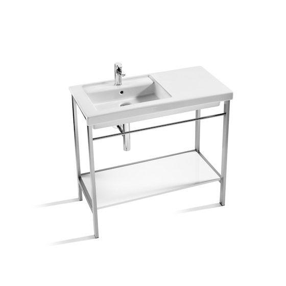 pied lavabo simple catchpole u rye lavabo sur colonne ou. Black Bedroom Furniture Sets. Home Design Ideas