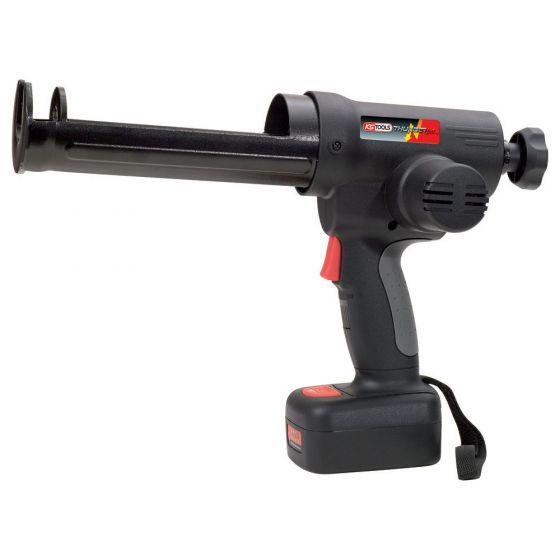Pistolet à cartouche 380ml avec 2 batteries Li-Ion 10,8V KS Tools 515.3566