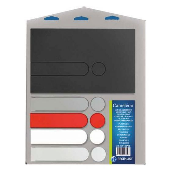 Plaque de commande CAMELEON avec 4 jeux de touches
