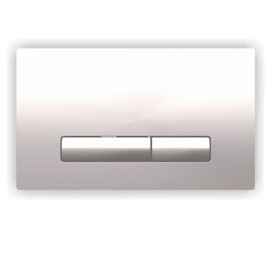 Plaque de commande GLAM - Double touche 3/6L