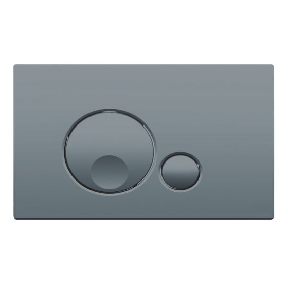 Plaque de commande GLOBE - Double touche 3/6L