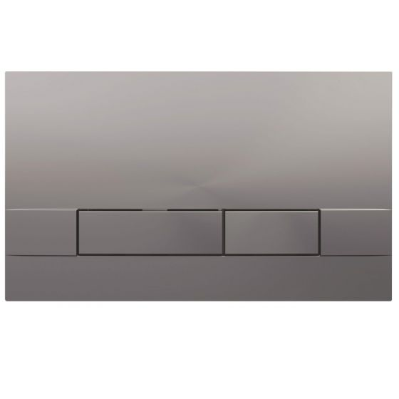 Plaque de commande NARROW - Double touche 3/6L