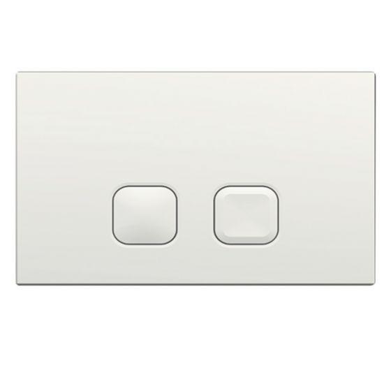 Plaque de commande PLAIN - Double touche 3/6L