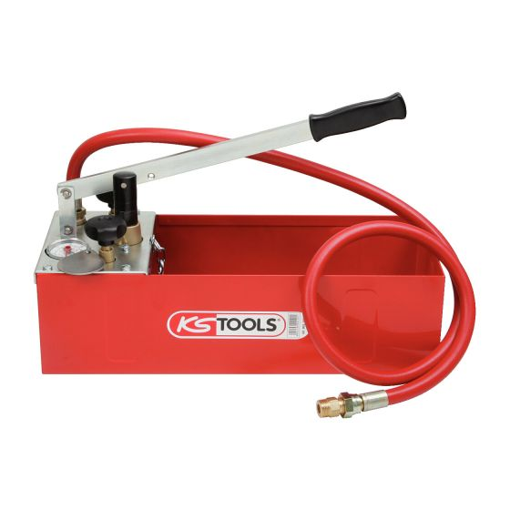 Pompe d'épreuve manuelle, 60 Bars KS Tools 902.1004