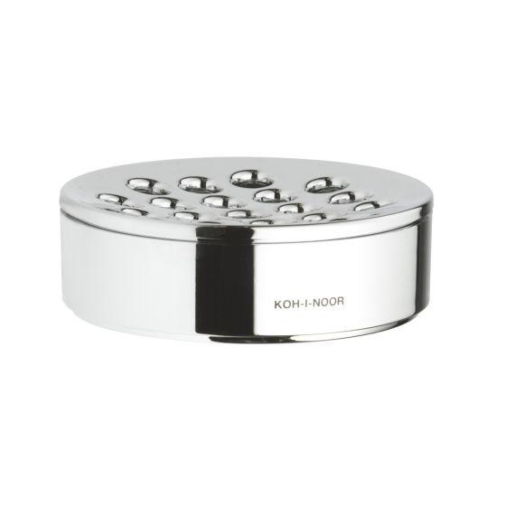 Porte-Savon KOH-I-NOOR CLASSIC à poser Ø11.5x3.5cm ABS Chromé