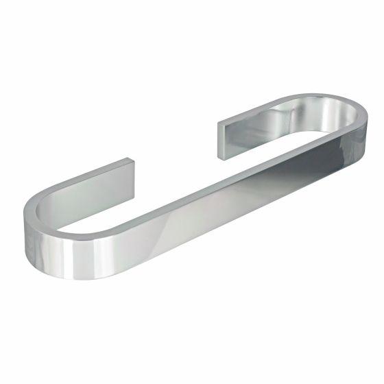 Porte-serviette 45cm aluminium Materia adhésif 3M