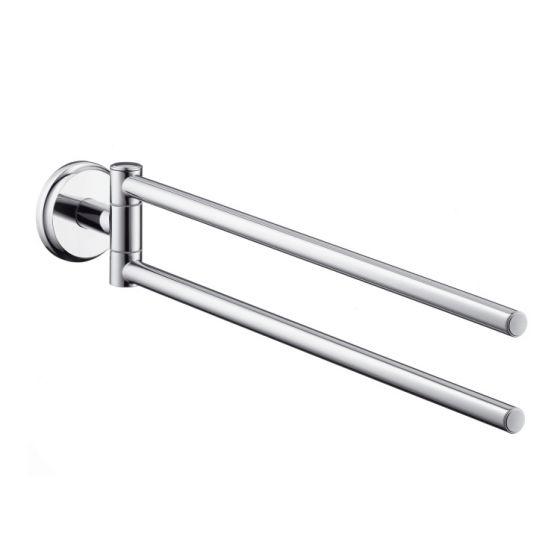Porte-serviette orientable Logis Classic 41612000