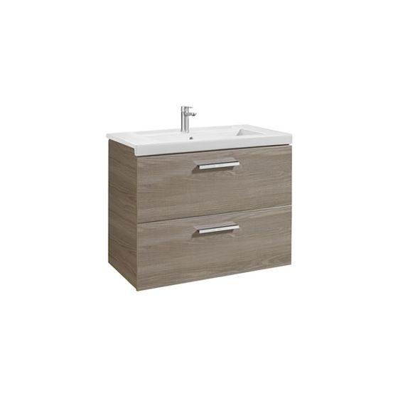 Meuble 2 tiroirs et lavabo disponible en 4 finitions