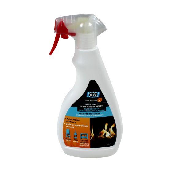 PROPFEU pulvérisateur nettoyant vitres pour poêles et inserts