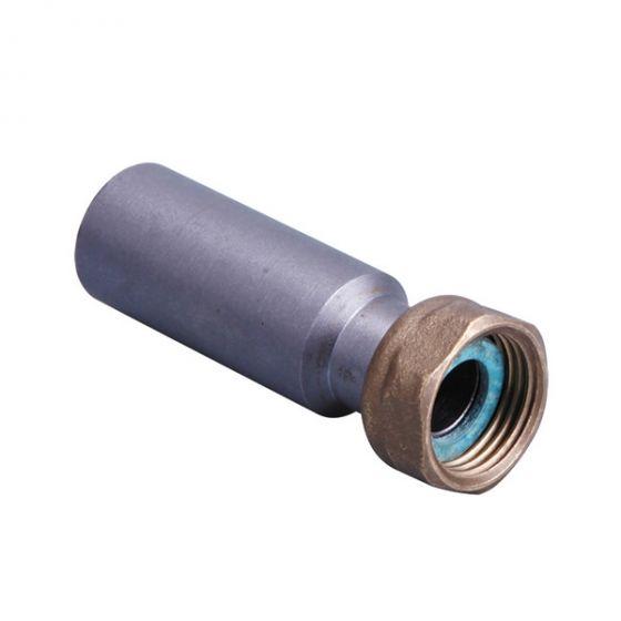 Raccord 2 pièces Joint Plat Gaz à souder sur tube acier