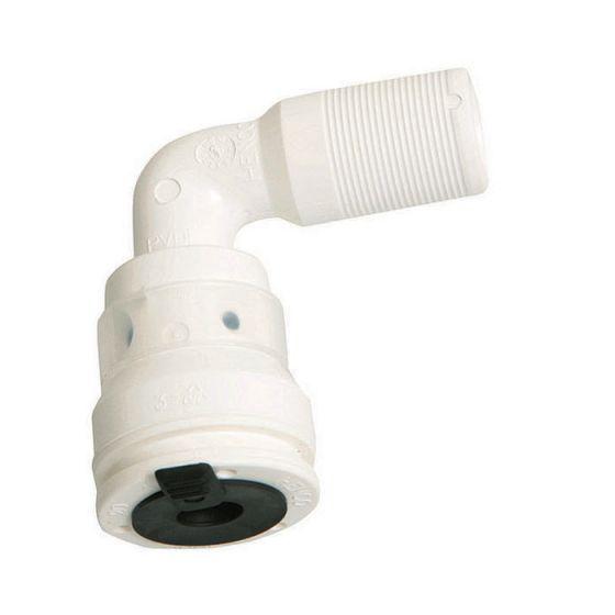 Raccord coude 90° pour collecteur push-fit Vision
