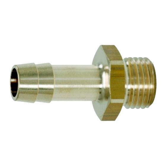 """Raccords filetage mâle pour tuyaux 1/2G""""x9mm"""