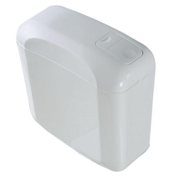 Réservoir wc BI FLO OLI Pure -  Attenant double débit 3-6 L
