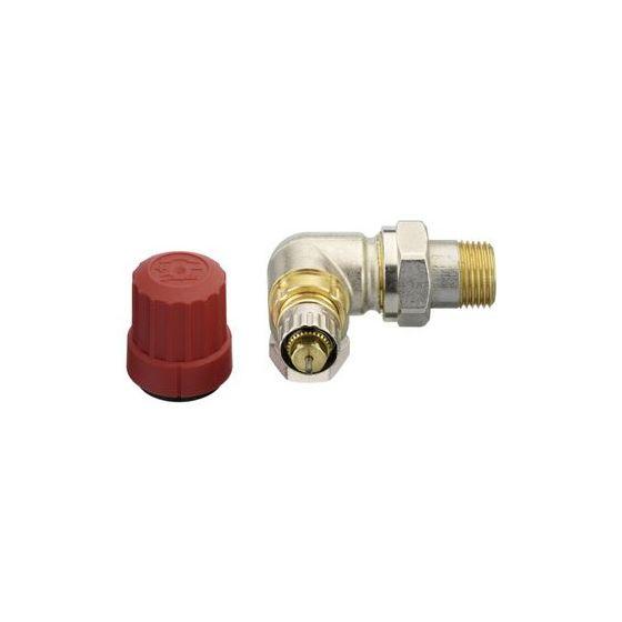 robinet thermostatique pour radiateur avec corps angle à droite - Radiateur Avec Robinet Thermostatique