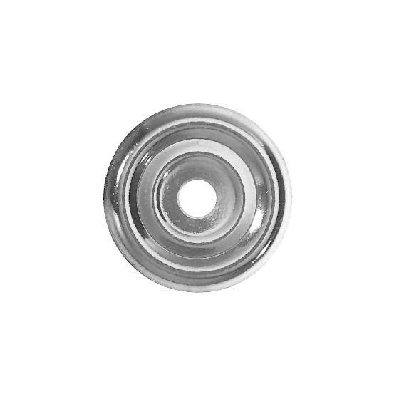 Rosace plate Ø32 - 100 pièces