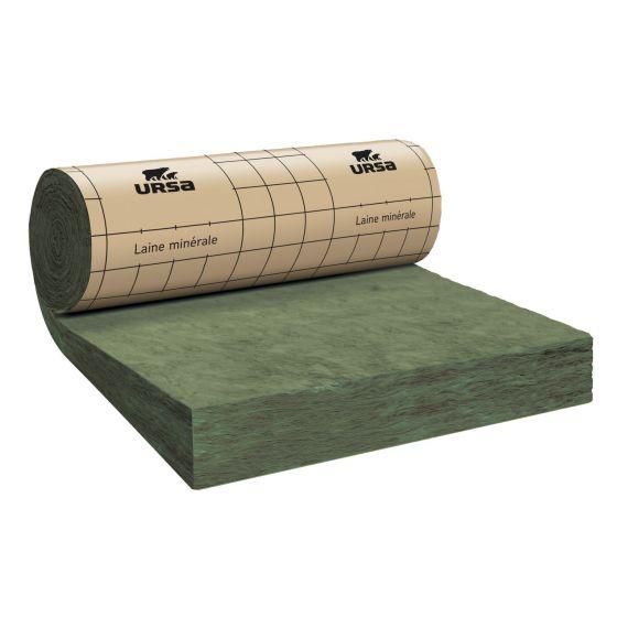 Rouleau laine de verre URSA MRK 40 TERRA revêtu kraft - Ep. 300mm - 3,12m² - R 7.5
