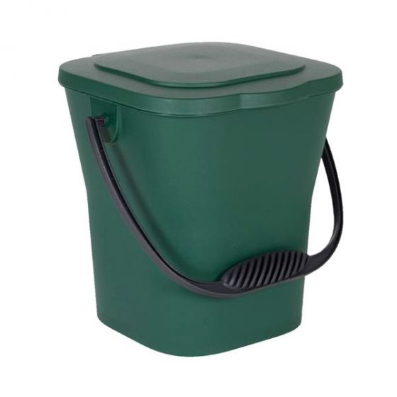 seau compost 6 l vert. Black Bedroom Furniture Sets. Home Design Ideas