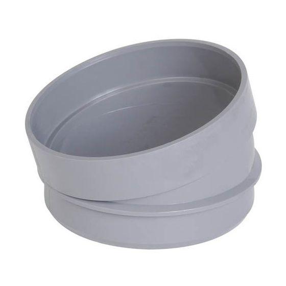 Secteur de coude 15° Ø100 Mâle Femelle NF Me - First Plast