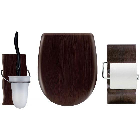 Set OLFA accessoires WC Wengé Mat