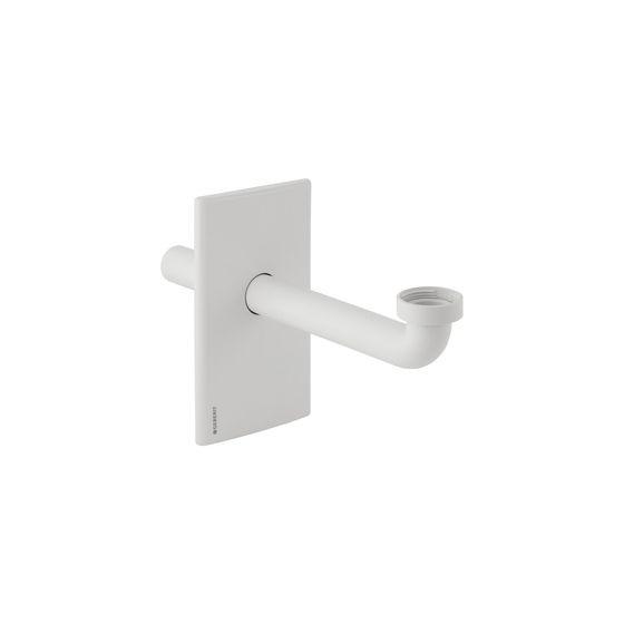 Set de finition synthétique Blanc pour bâti-support Duofix lavabo