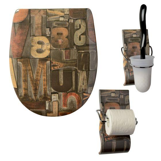 Set Olfa accessoires WC Caractères