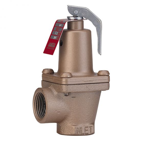 Soupape de sûreté 174A en bronze - 3 bar