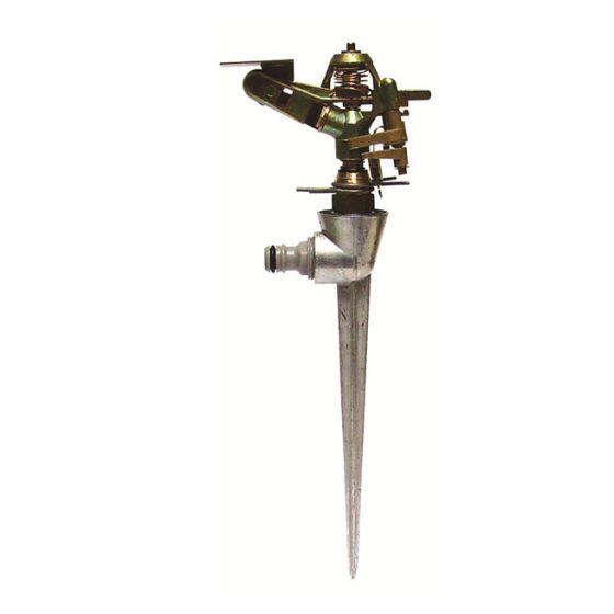 Arroseur cracheur métallique secteur réglable piquet métal-450m²