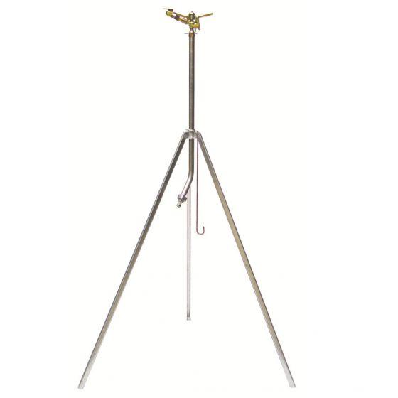 Arroseur cracheur métallique secteur réglable Trépied télescop-700m²